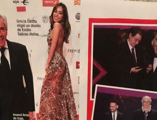 Grecia Castta en los Premios Forqué